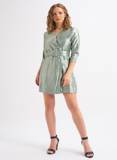 Quzu Elbise Yeşil